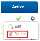 Client Delete Option